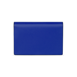 Young Kelly Calf Leather Business Card Holder