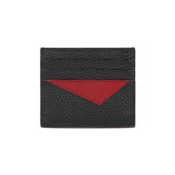 Taglio Saffiano Leather Credit Card Holder
