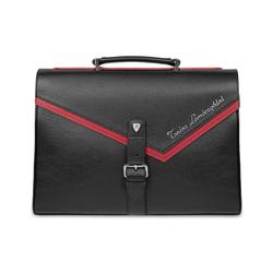 Taglio PATL1902 Saffiano Leather Briefcase