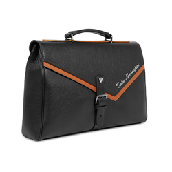 Taglio PATL1902 Saffiano Leather Briefcase
