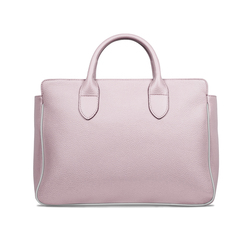 TAGLIO BAG Pink Business Bag with White Saffiano insert