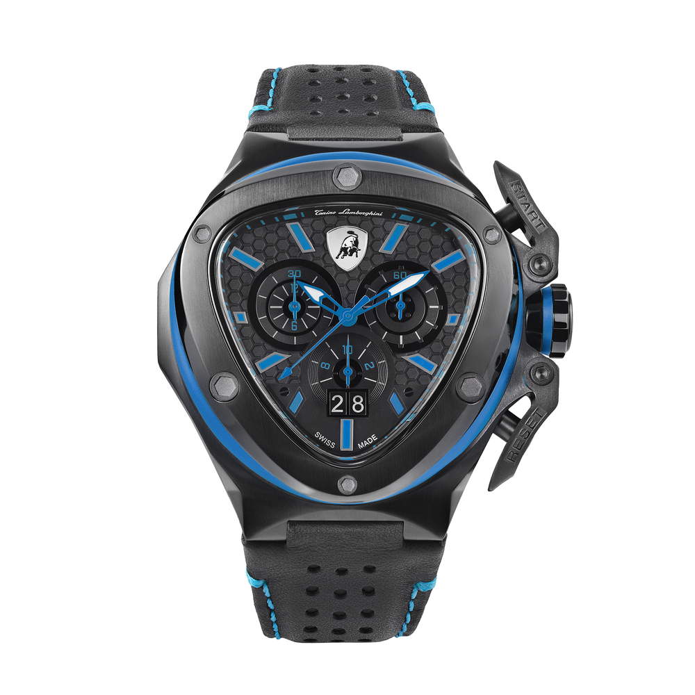 Tonino Lamborghini - Spyder X Chrono Watch blue