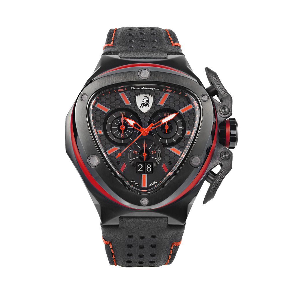 Tonino Lamborghini - Spyder X Chrono Watch red