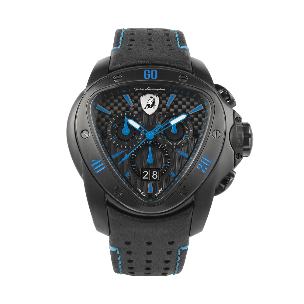 Tonino Lamborghini - Spyder Chrono Watch blue