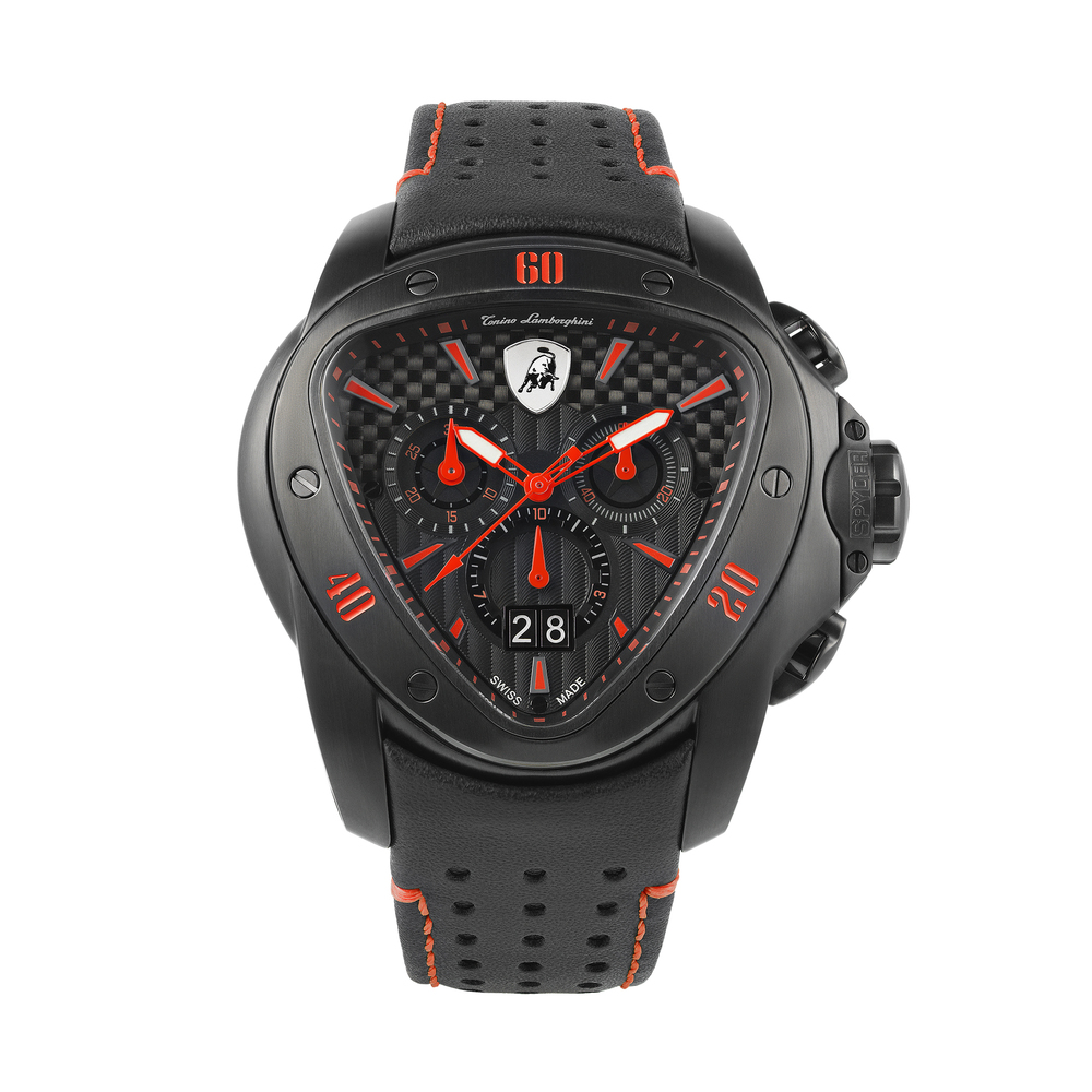 Tonino Lamborghini - Spyder Chrono Watch red
