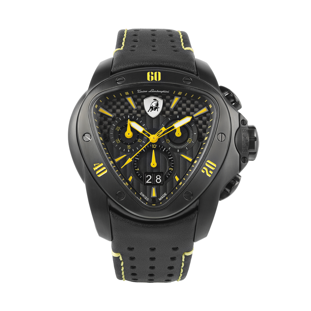 Tonino Lamborghini - Spyder Chrono Watch yellow