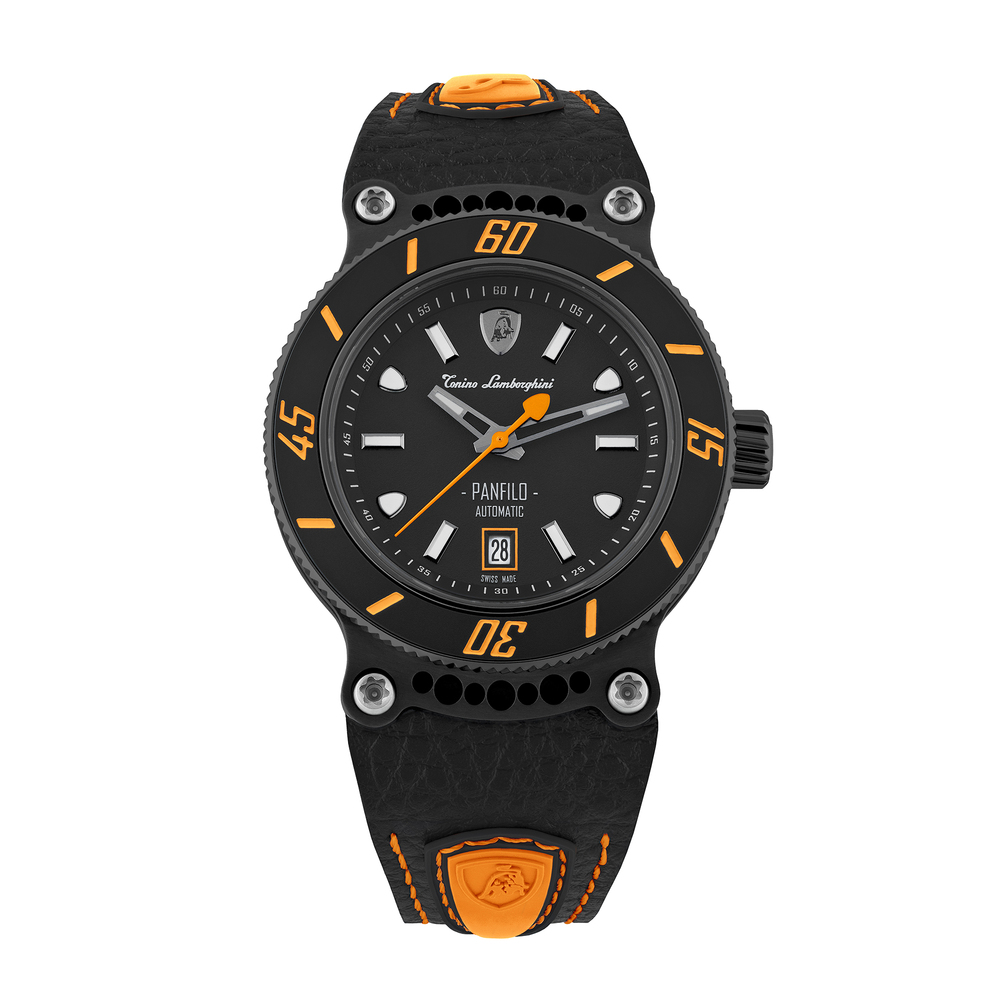 Tonino Lamborghini - Panfilo automatic watch orange