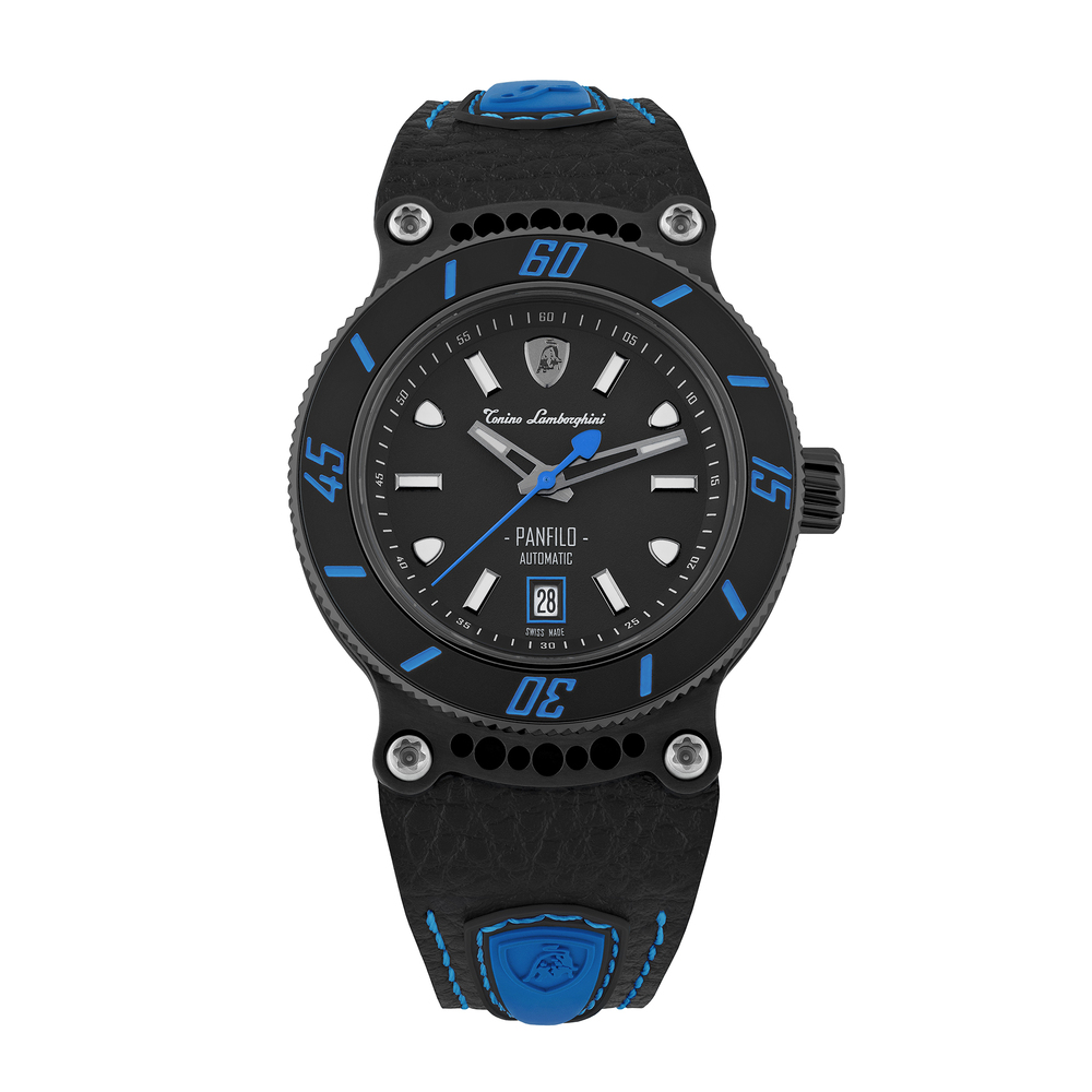 Tonino Lamborghini - Panfilo automatic watch blue