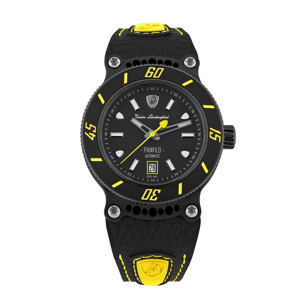 Tonino Lamborghini - Panfilo automatic watch yellow