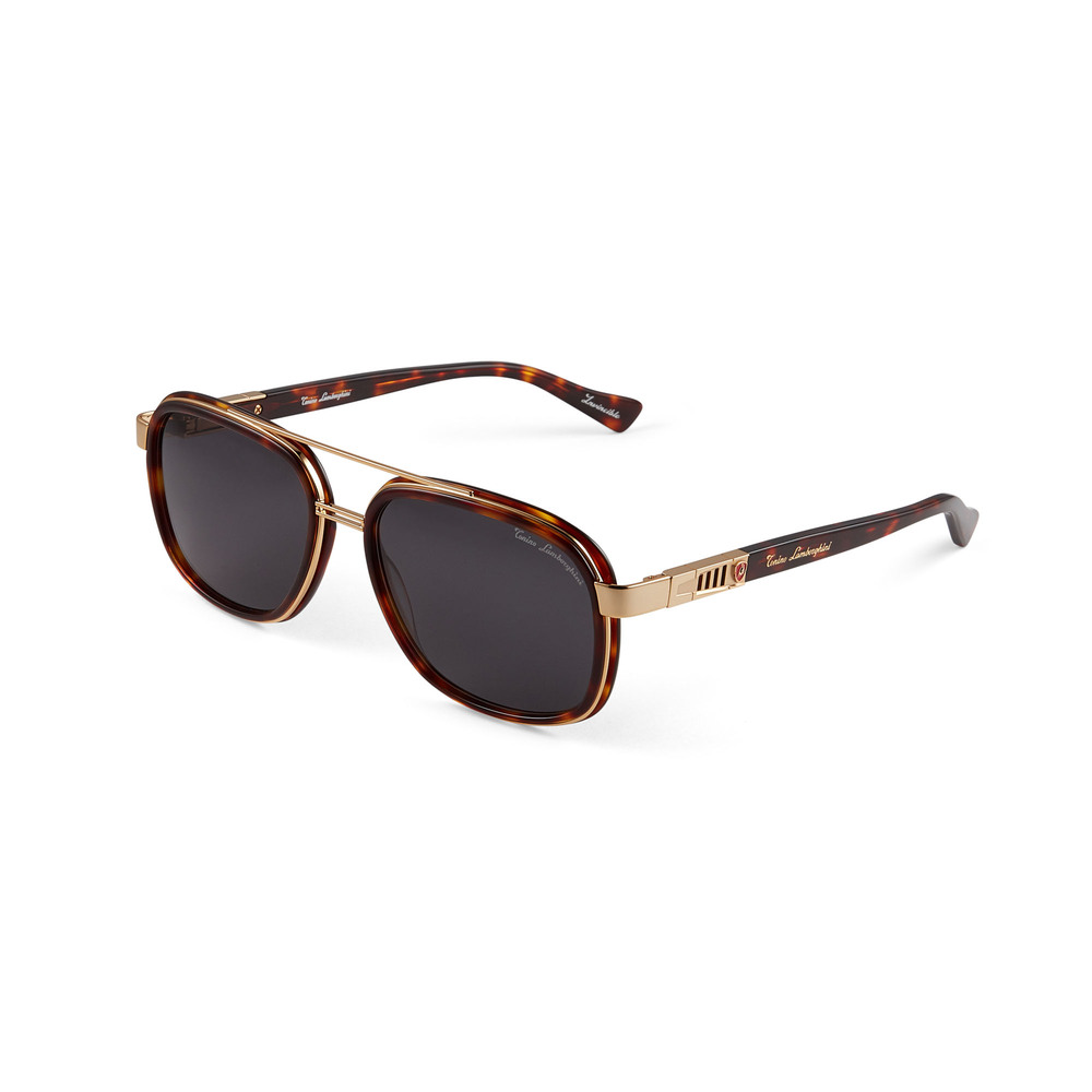 Tonino Lamborghini - Invincibile Sunglasses Tortoise and Gold