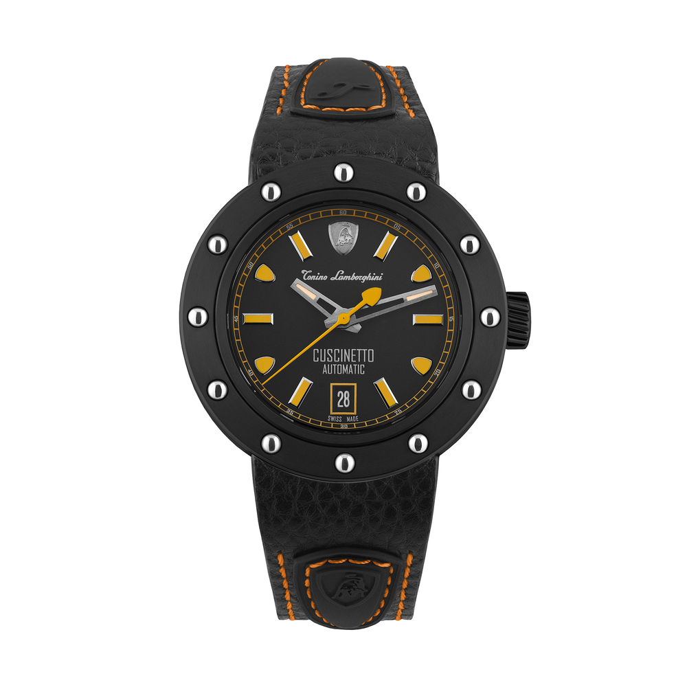 Tonino Lamborghini - Cuscinetto automatic watch orange