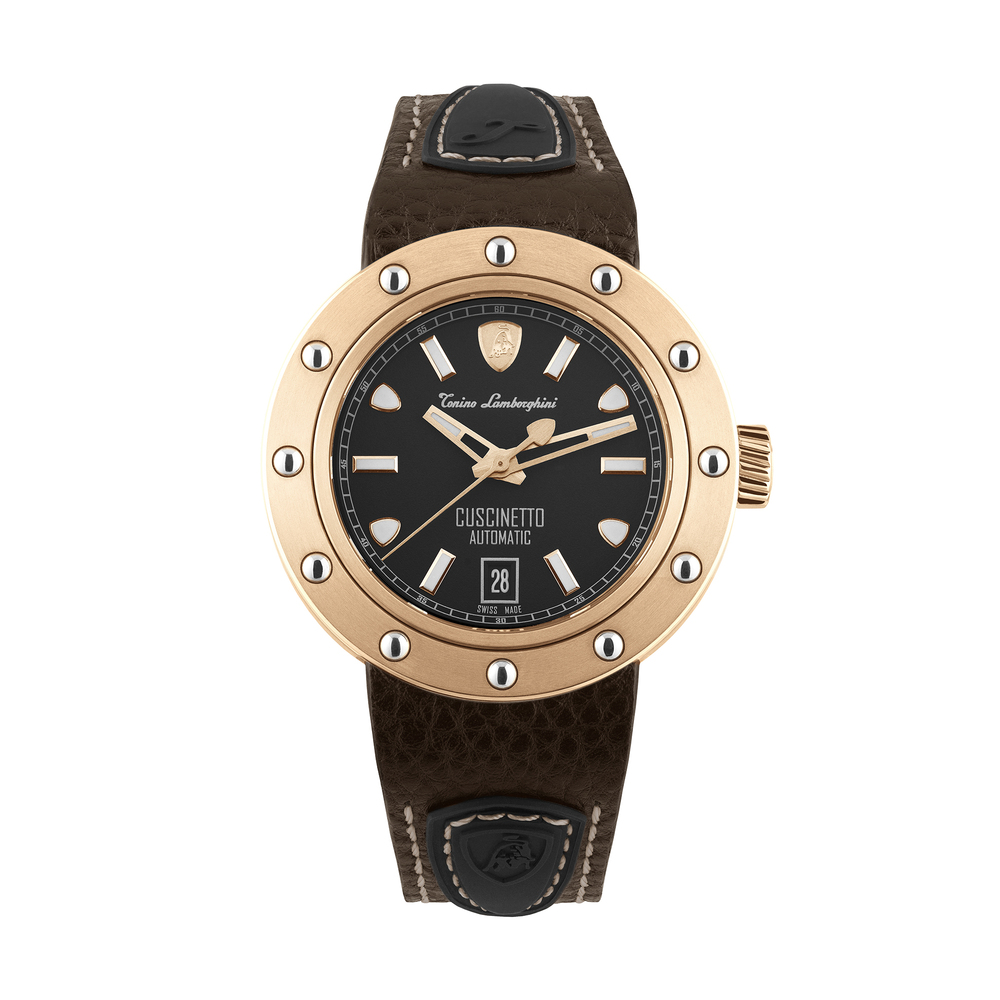 Tonino Lamborghini - Cuscinetto automatic watch rose gold