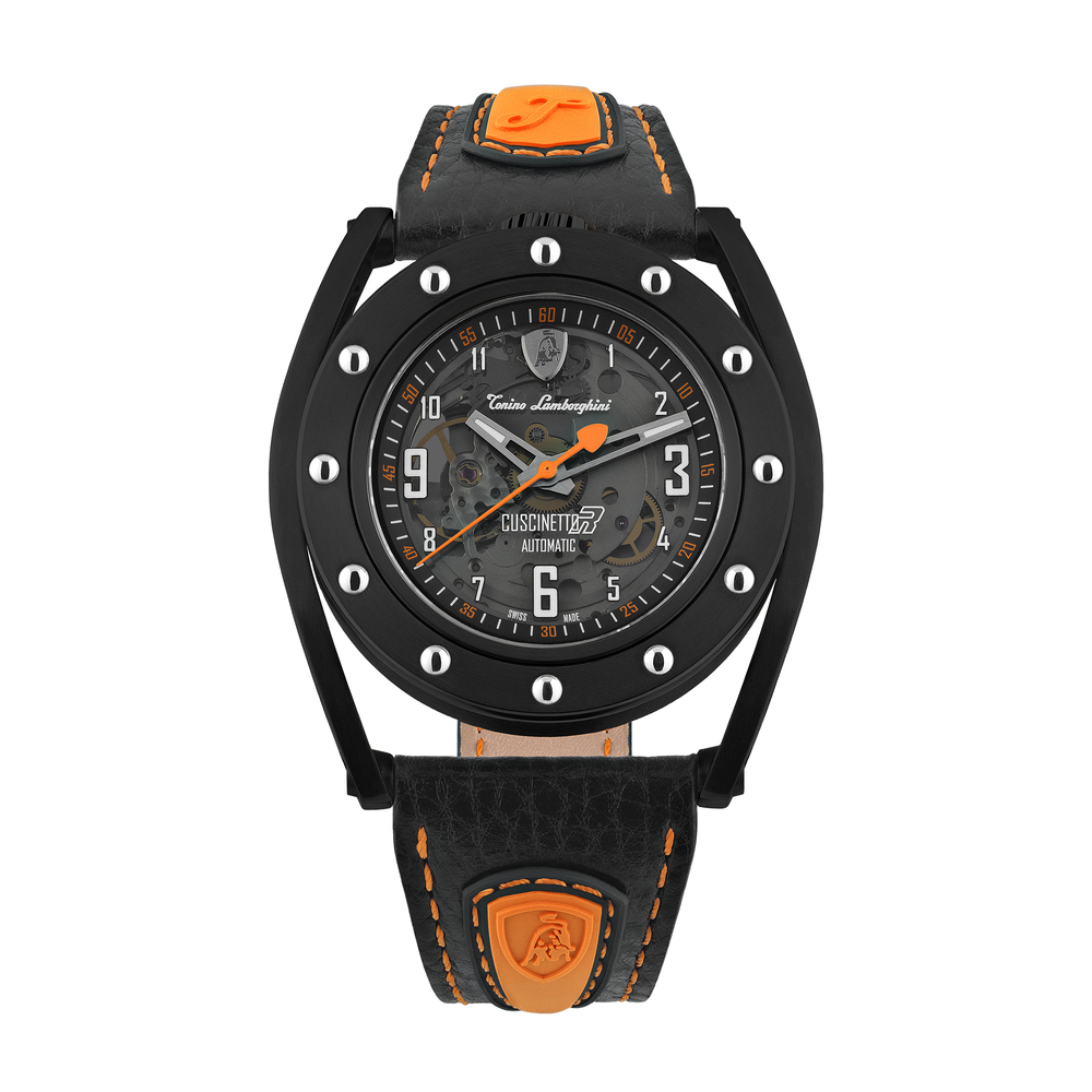 Tonino Lamborghini-Cuscinetto R automatic watch orange