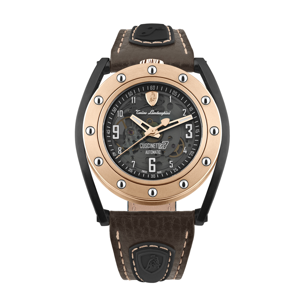 Tonino Lamborghini - Cuscinetto R automatic watch rose gold