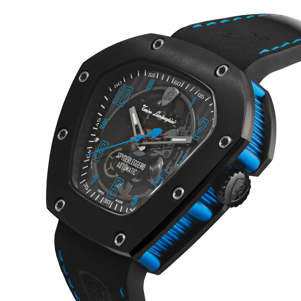 Spyderleggero Skeleton automatic watch
