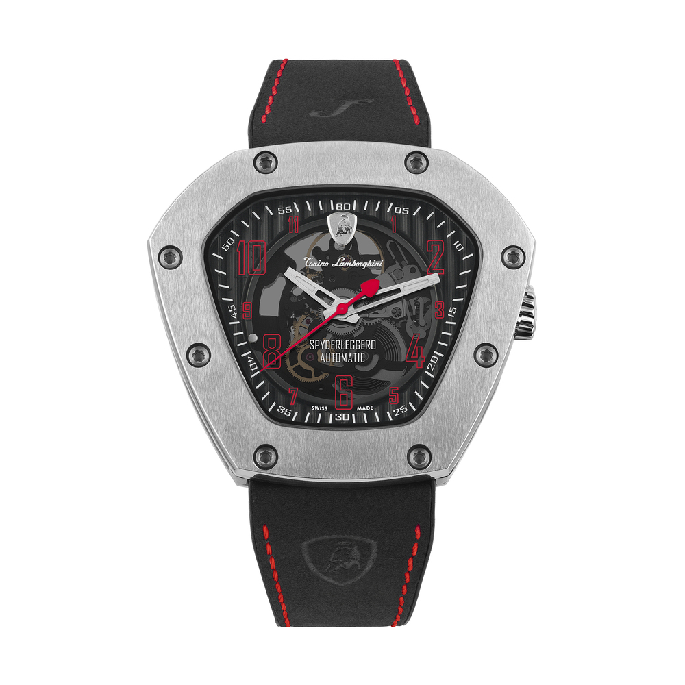 Tonino Lamborghini - Spyderleggero Skeleton automatic watch red