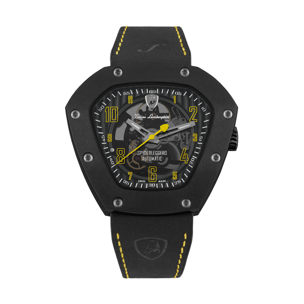 Tonino Lamborghini - Spyderleggero Skeleton automatic watch yellow