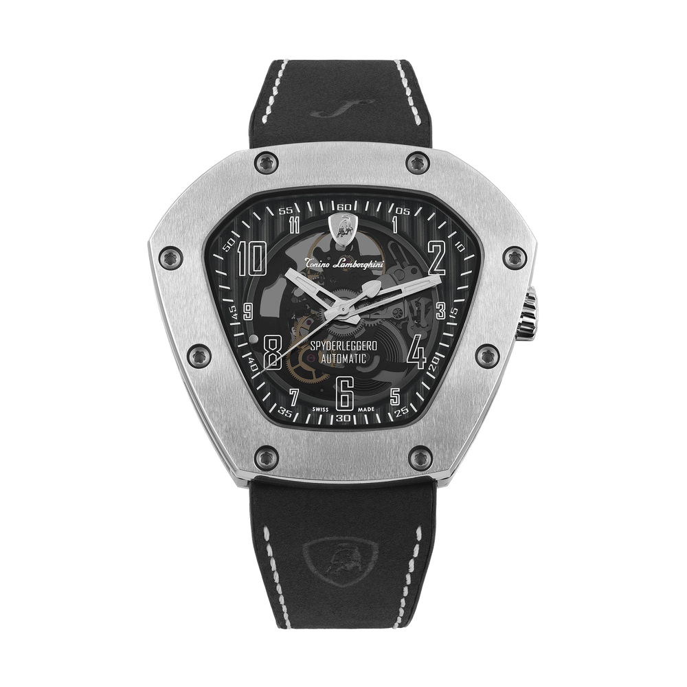 Tonino Lamborghini - Spyderleggero Skeleton automatic watch white