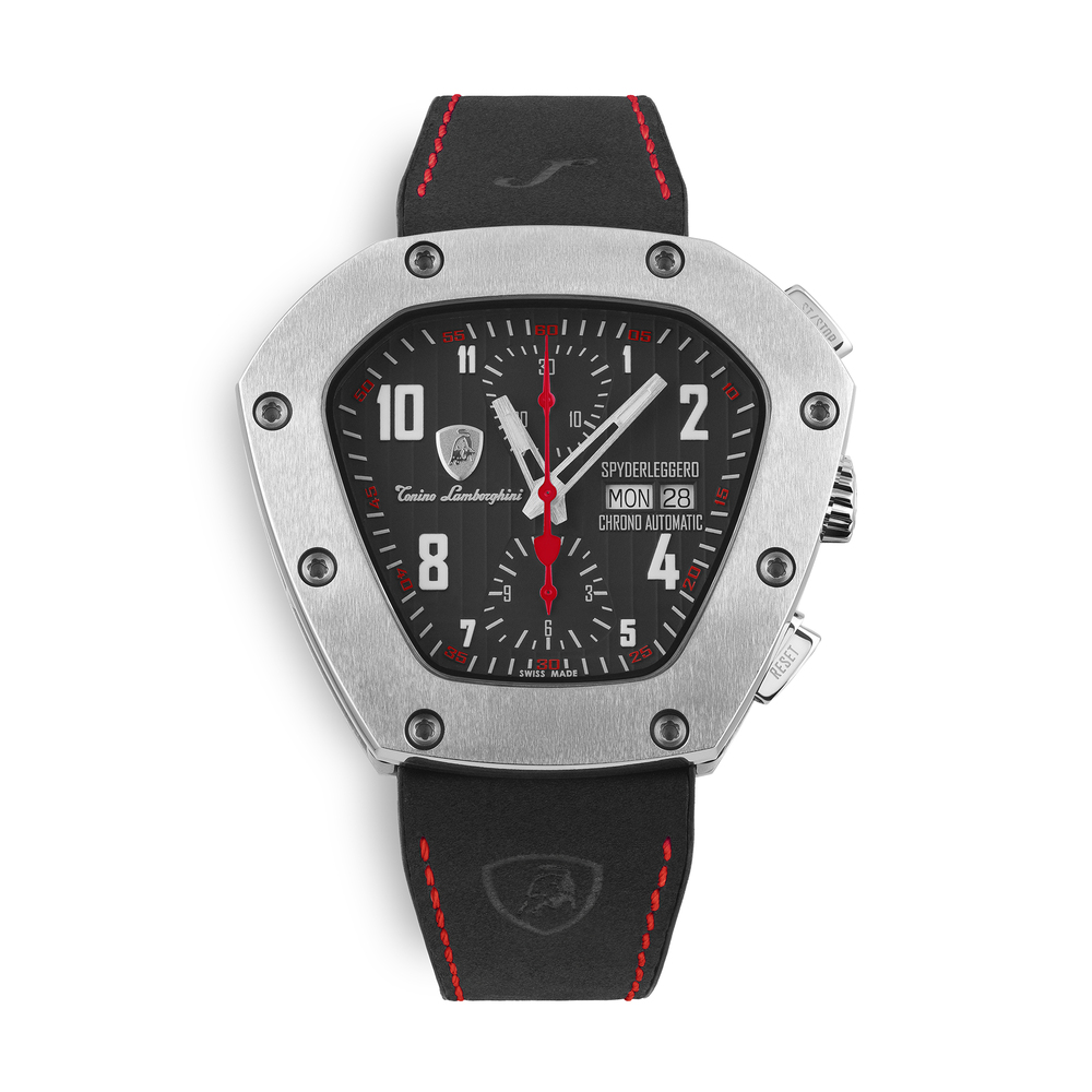 Tonino Lamborghini - Spyderleggero Chrono automatic watch red