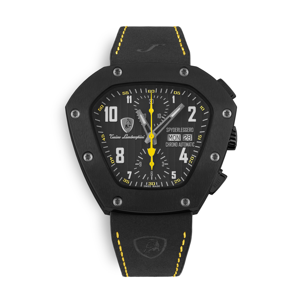 Tonino Lamborghini - Spyderleggero Chrono automatic watch yellow
