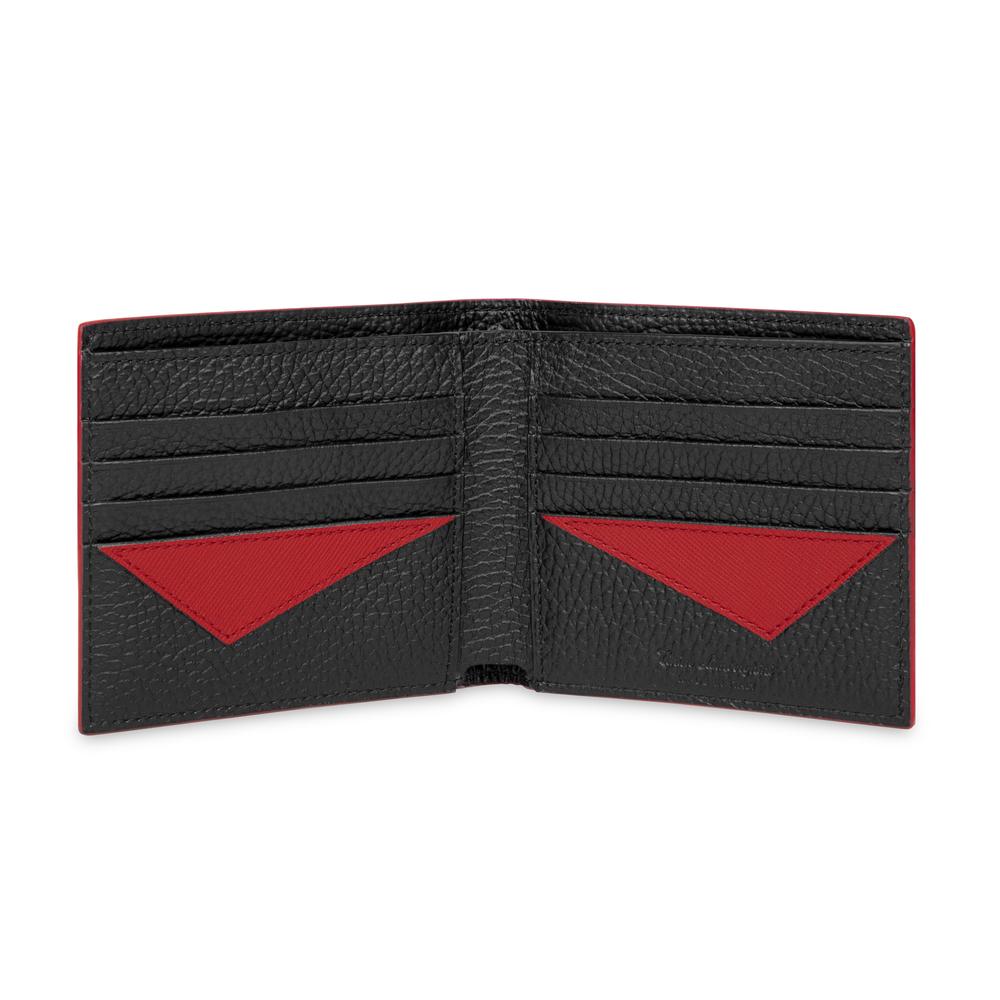 Taglio Saffiano Leather Wallet