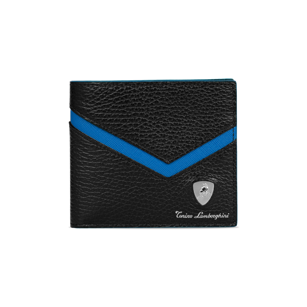 Tonino Lamborghini - Taglio Saffiano Leather Wallet