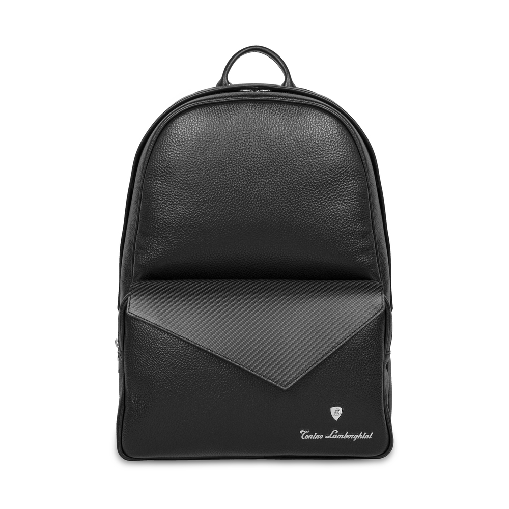 Tonino Lamborghini - Carbon Leather Backpack carbon fibre