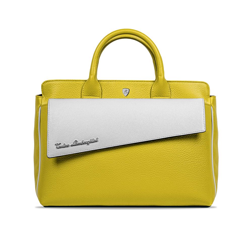 Tonino Lamborghini-Taglio Women's Handbag yellow