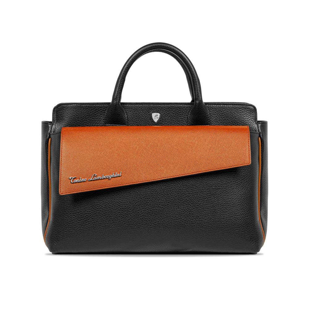 Tonino Lamborghini-Taglio Women's Handbag mandarin