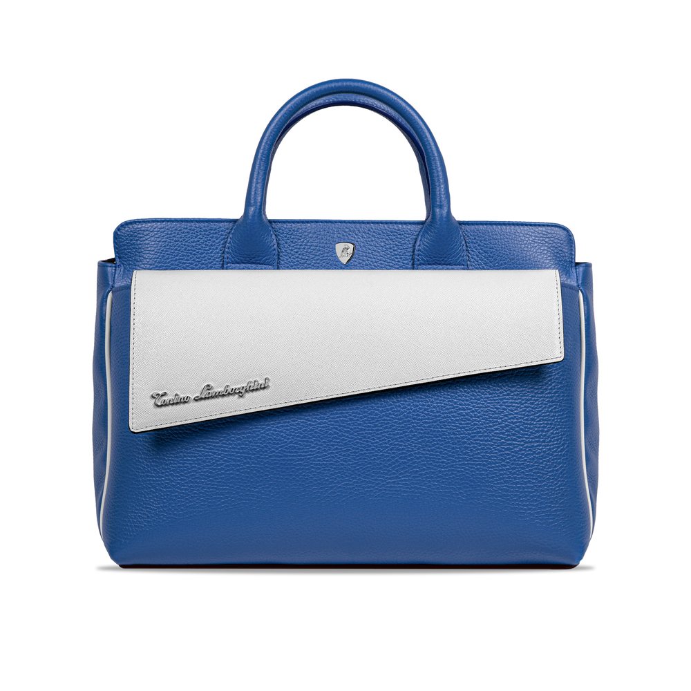 Tonino Lamborghini-Taglio Women's Handbag blue/white