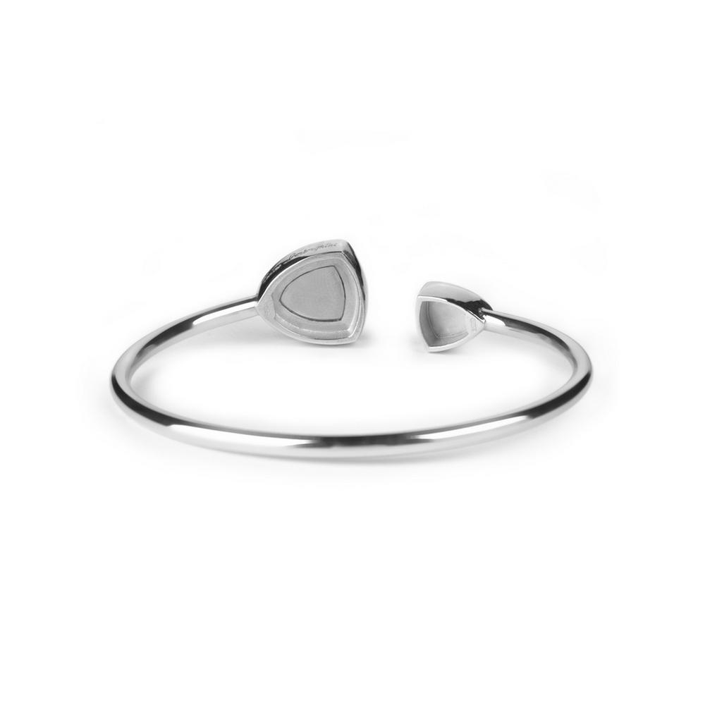 Bracciale rigido in argento Shield Lady