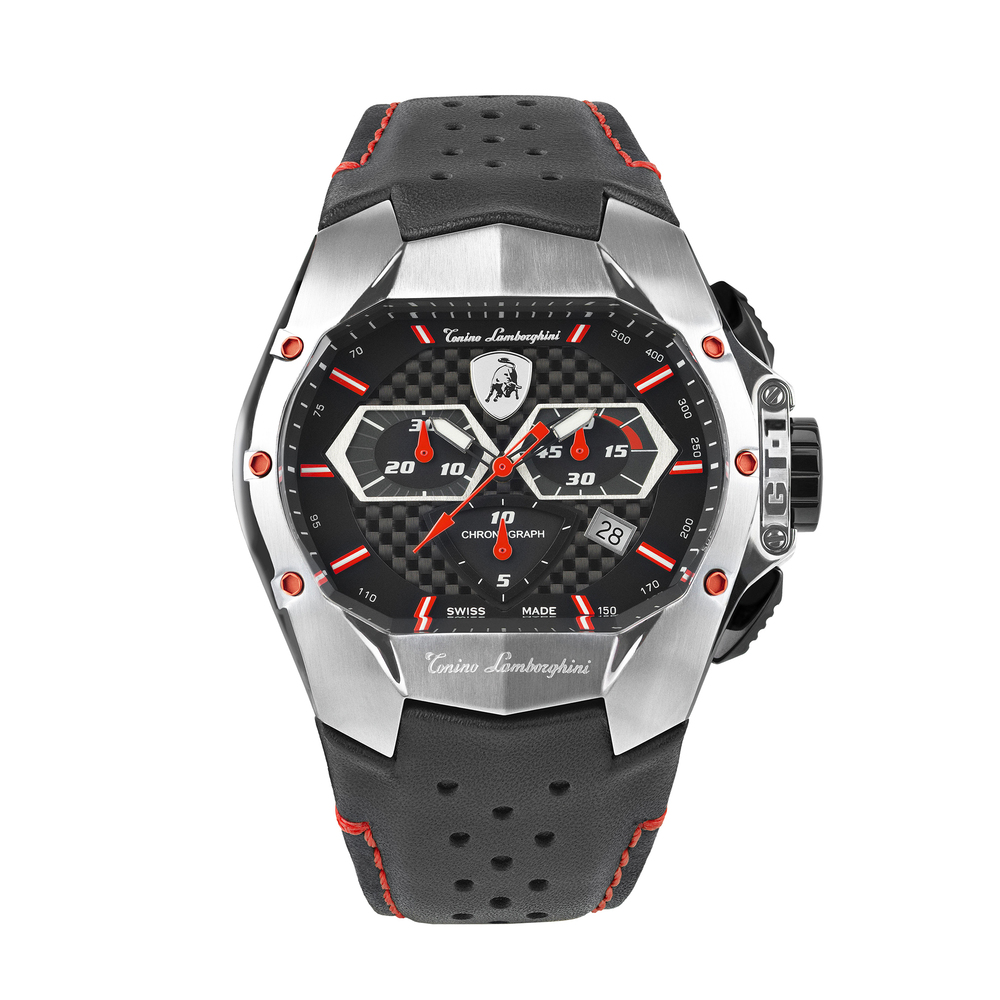 Tonino Lamborghini - GT1 SS Chrono Watch Red
