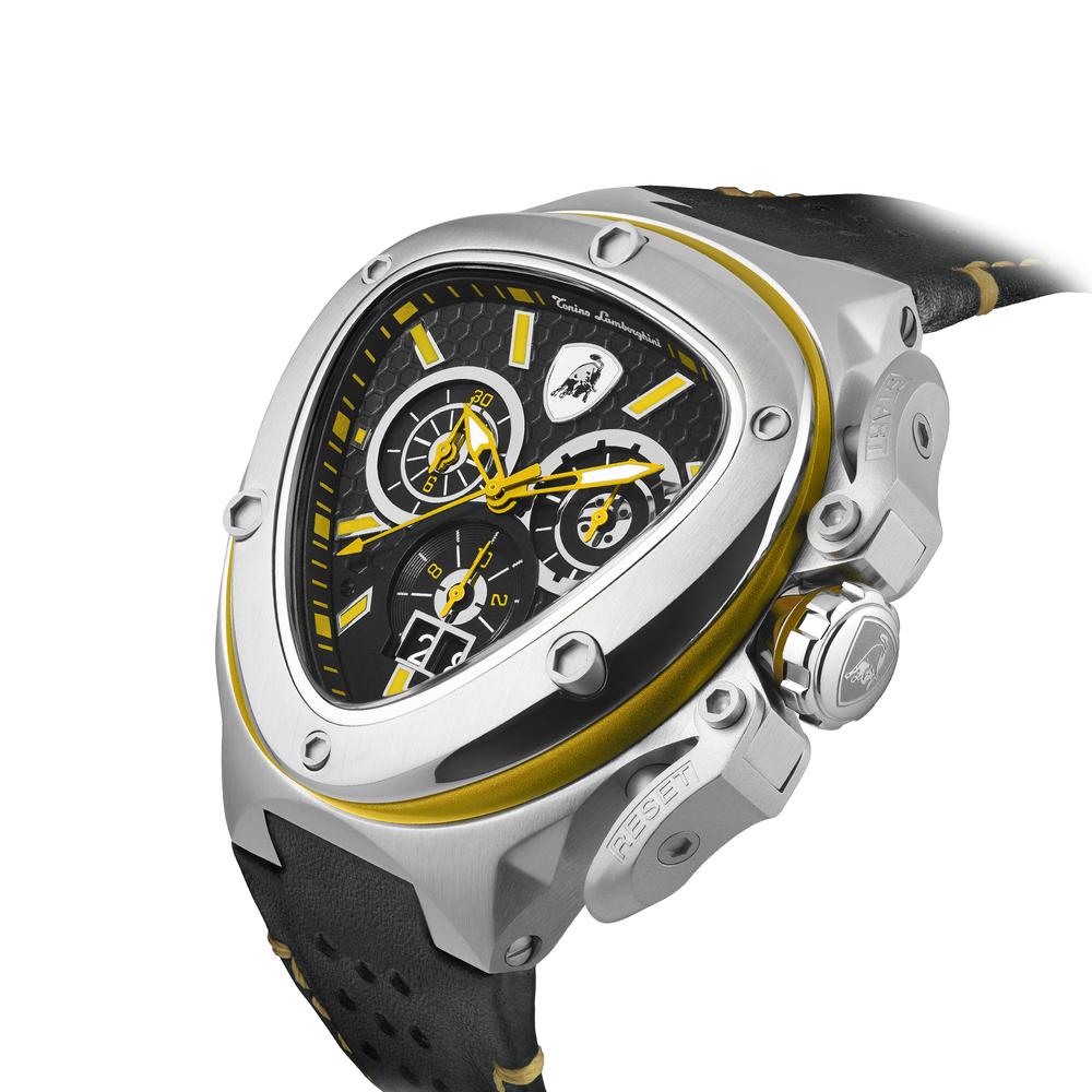 Spyder X SS Chrono Watch Yellow