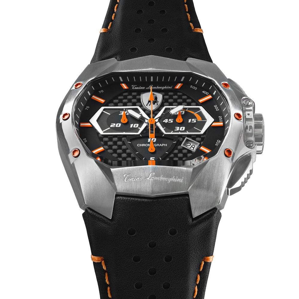 GT1 SS Chrono Watch Orange