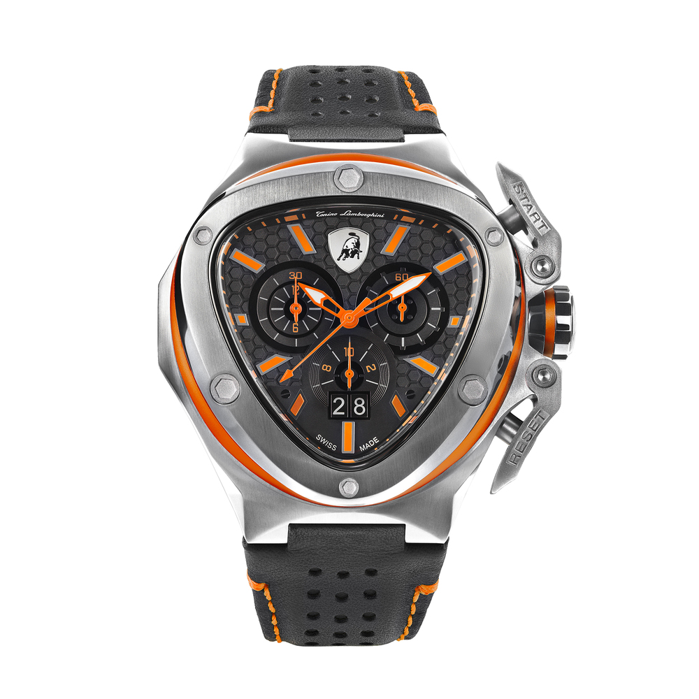 Tonino Lamborghini - Spyder X SS Chrono Watch Orange