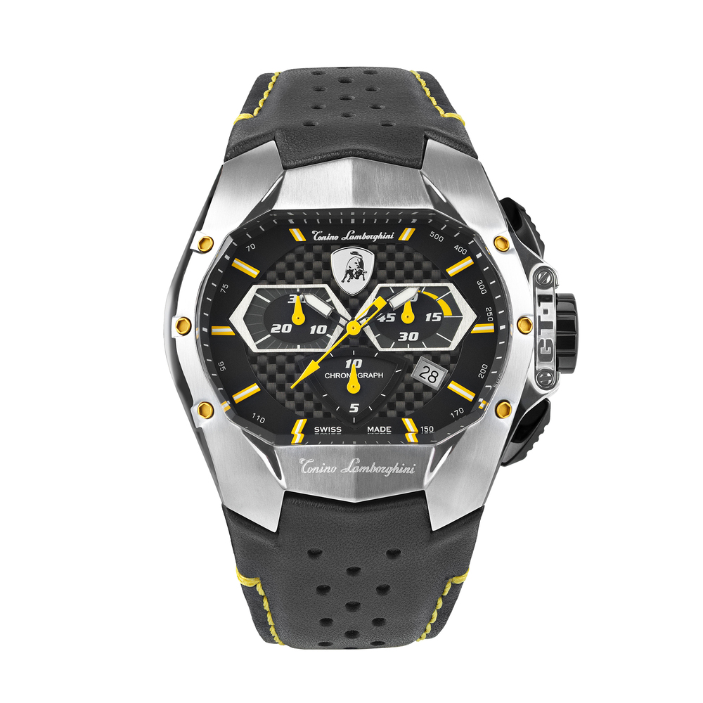 Tonino Lamborghini - GT1 SS Chrono Watch Yellow