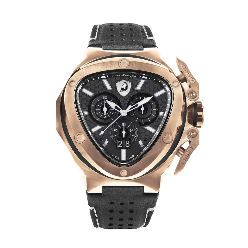 Tonino Lamborghini - Spyder X SS Chrono Watch Rose Gold