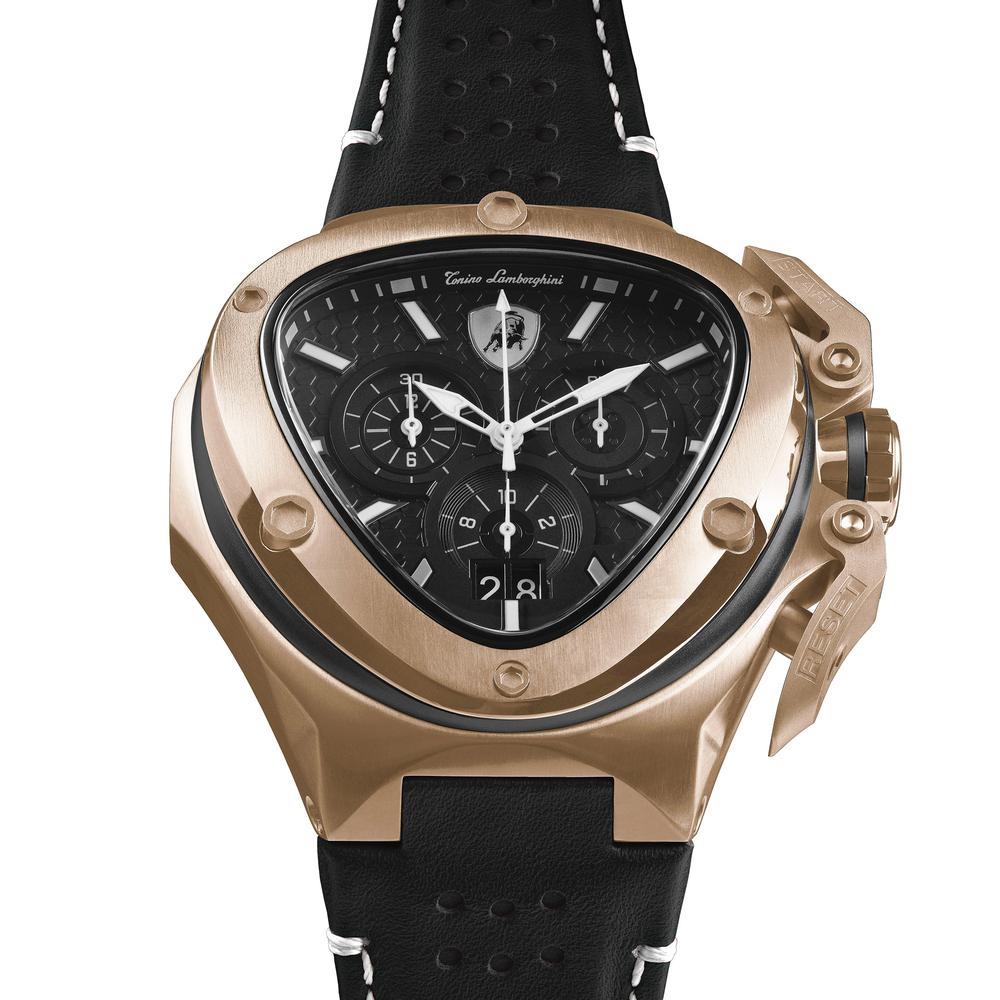 Spyder X SS Chrono Watch Rose Gold