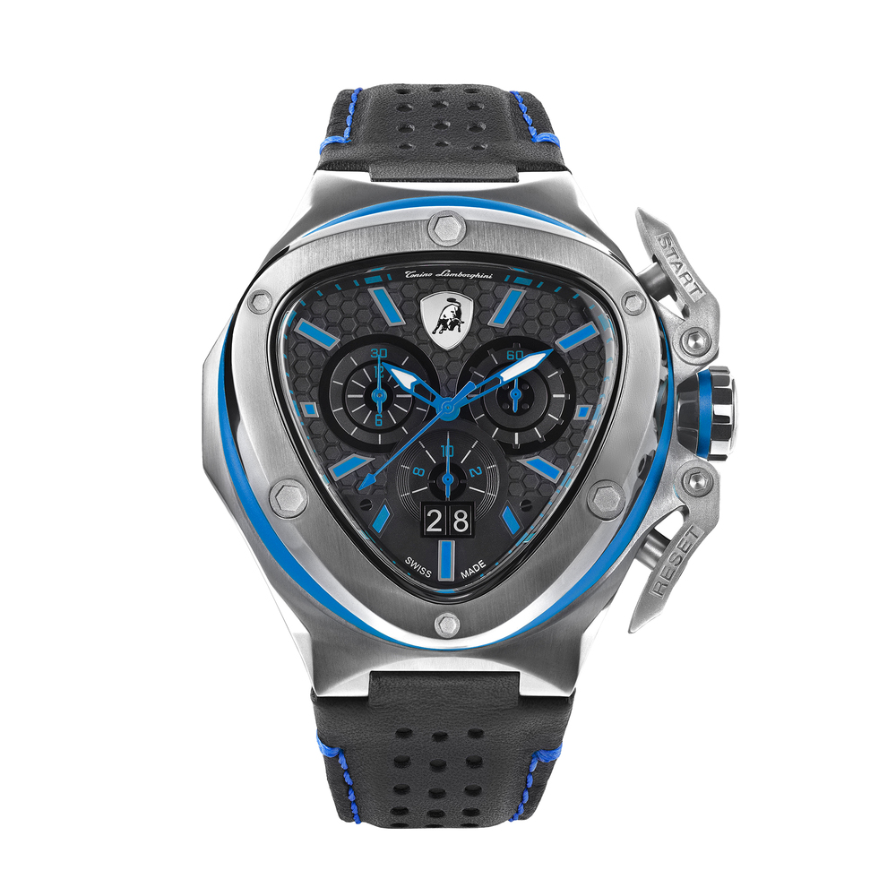 Tonino Lamborghini - Spyder X SS Chrono Watch Blue