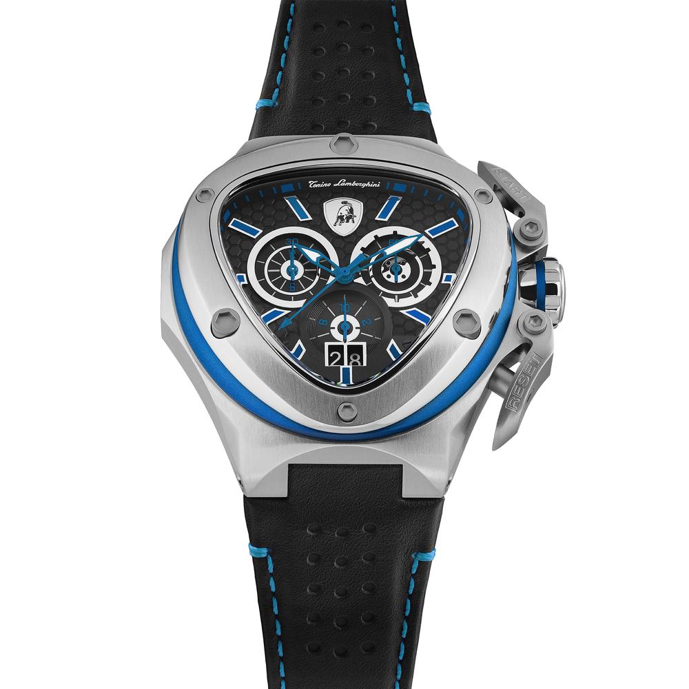 Spyder X SS Chrono Watch Blue