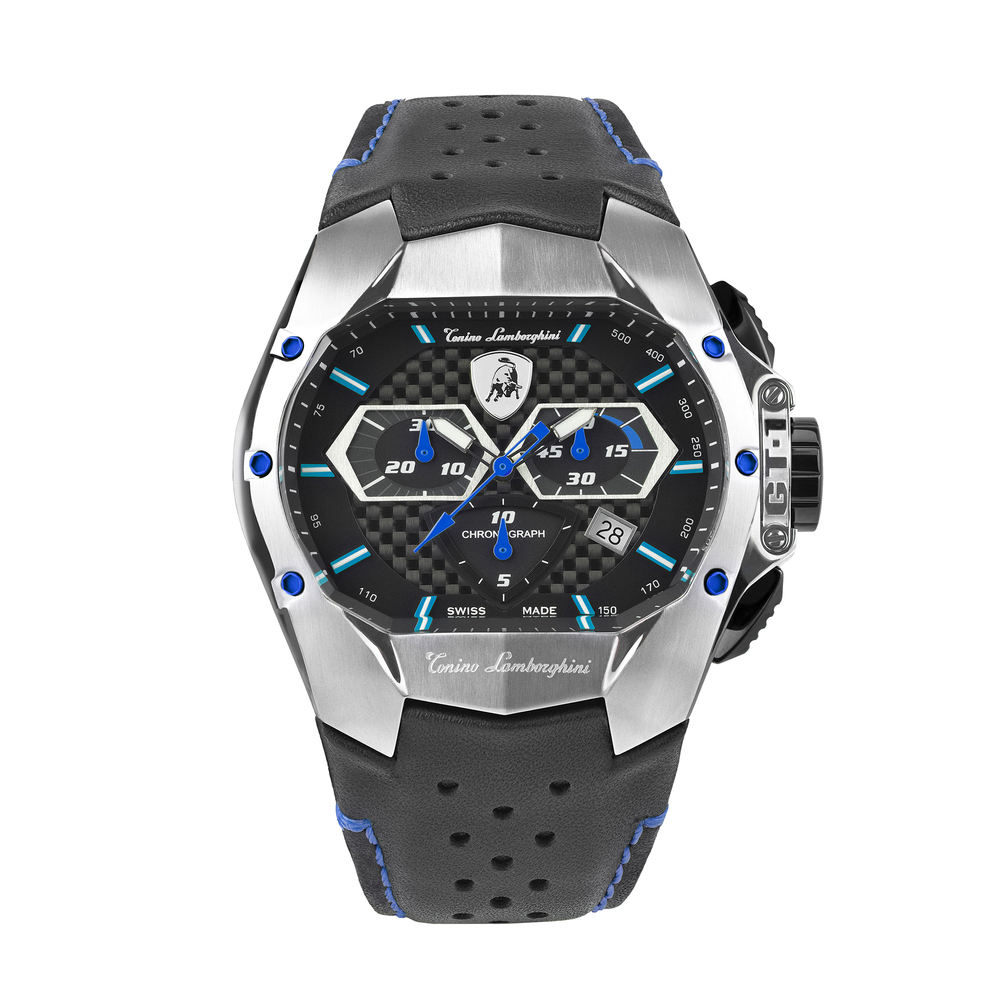 Tonino Lamborghini - GT1 SS Chrono Watch Blue