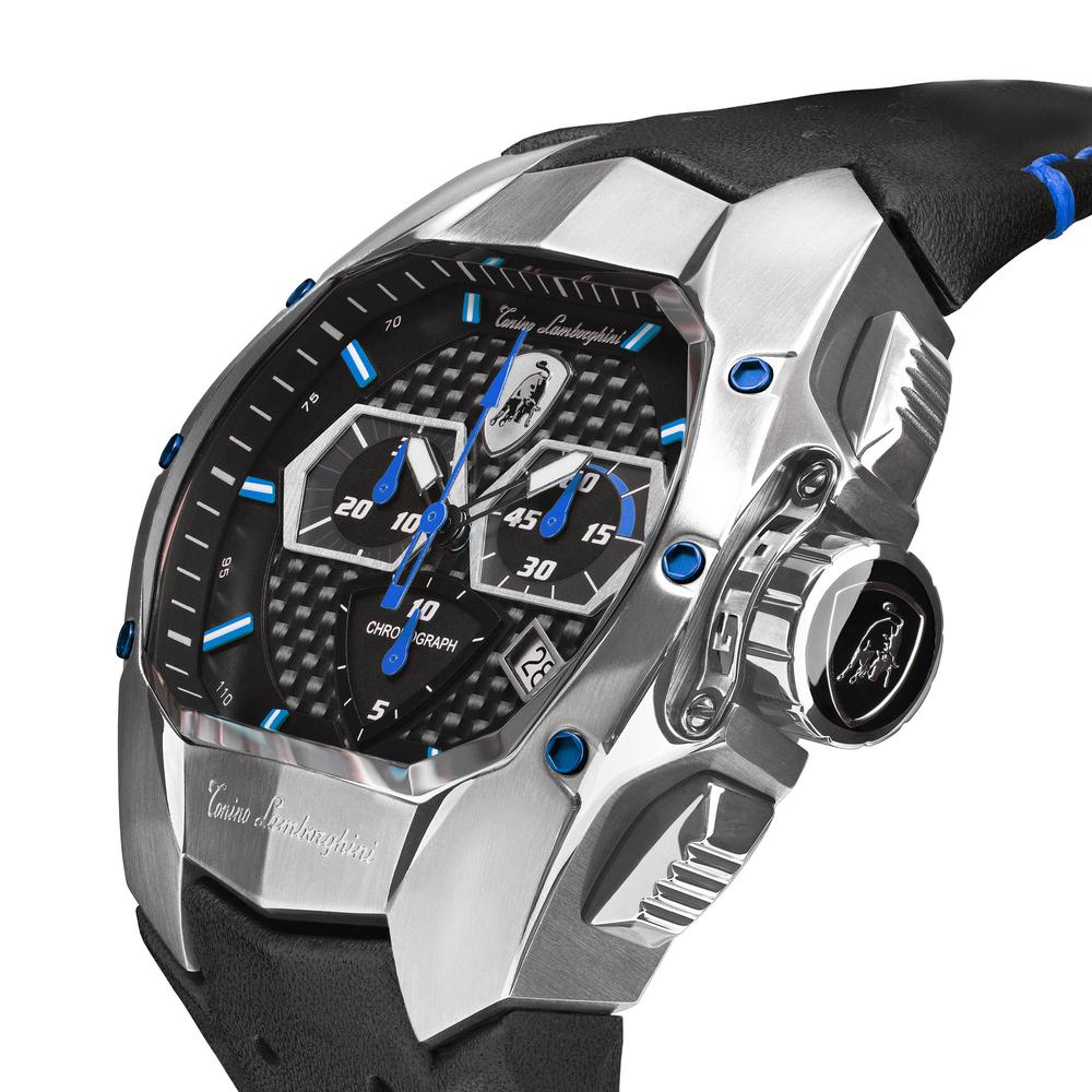 GT1 SS Chrono Watch Blue