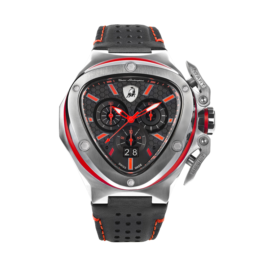 Tonino Lamborghini - Spyder X SS Chrono Watch Red